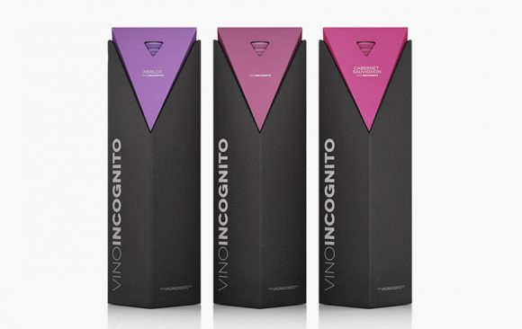 Wine presentation packaging design
