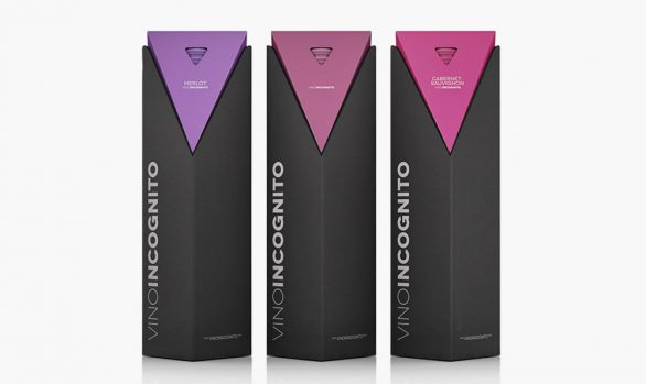 Wine presentation packaging design