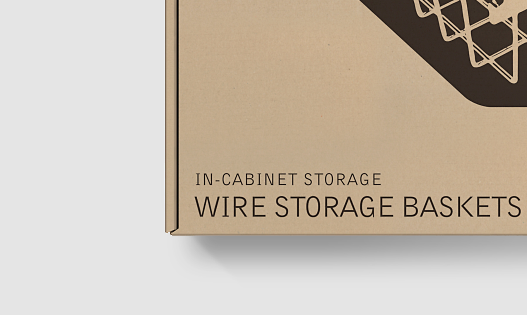 Cardboard Packaging Design - Information Detail